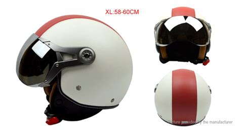 Gxt G-288 Motorcycle Scooter Retro Half Helmet (size Xl