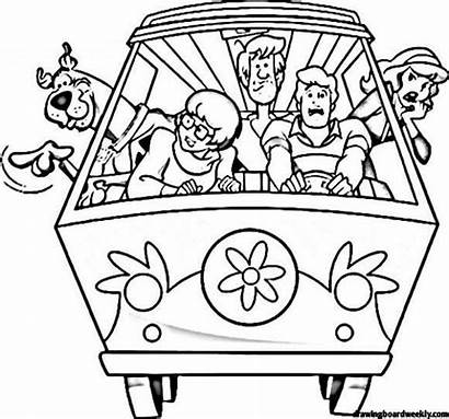Doo Scooby Coloring Pages Supernatural