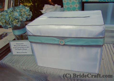 craft  satin card box   wedding
