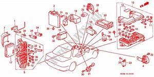 Fuse Box  Relay For Honda Cars Integra Ls 4 Doors 4 Speed