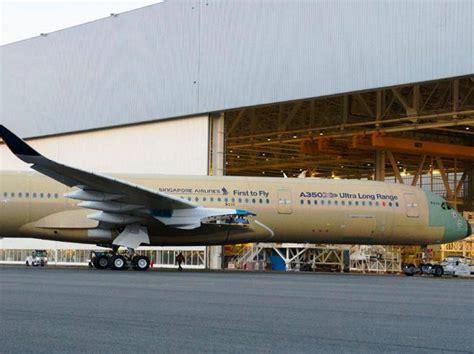 airbus si鑒e social airbus mostra il primo a350 ulr così si apre l era dei voli lunghi corriere it