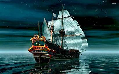 Pirate Ship Backgrounds Wallpapers Cave Backdrop