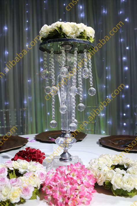 chandelier centerpieces acrylic beaded table top chandelier centerpieces flower