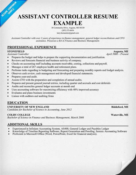 Example Of Assistant Director Of Nursing Resume