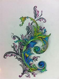 Victorian Filigree Tattoos