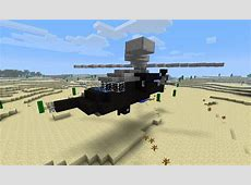 UH60 Black Hawk Helicopter Minecraft Project
