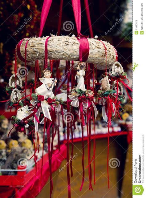 traditional german christmas decorations stock photo image 53960976