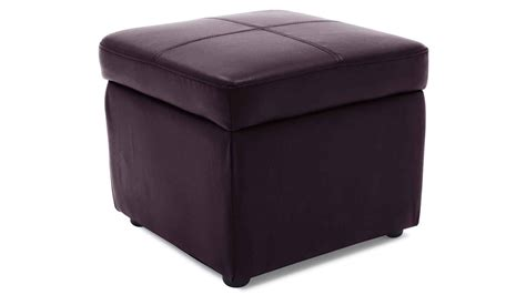purple storage ottoman key storage ottoman zuri furniture