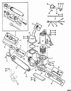 Power Trim Components For Mariner    Mercury 90  115 H P  Inline