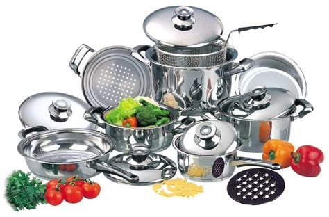 stainless steel cookware  popular choices