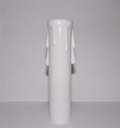 white plastic chandelier 4 quot white molded plastic chandelier replacement sleeve ebay
