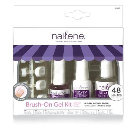 Nailene Ultra Quick Brush On Gel Kit Ocado