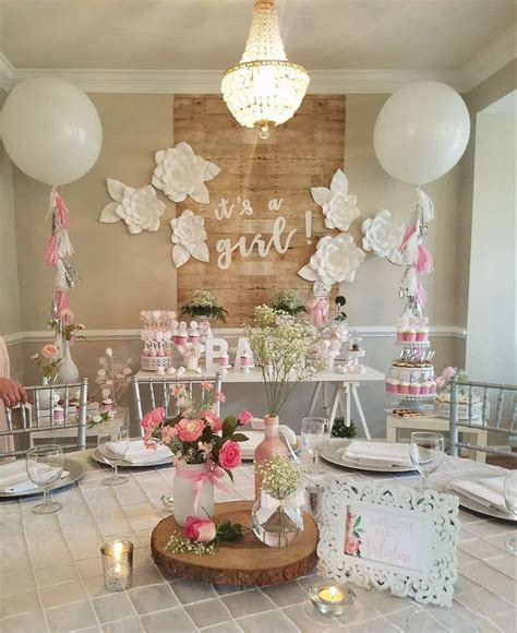 baby shower party ideas   baby shower girl baby