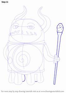 Step By Step How To Draw Captain Smek From Home