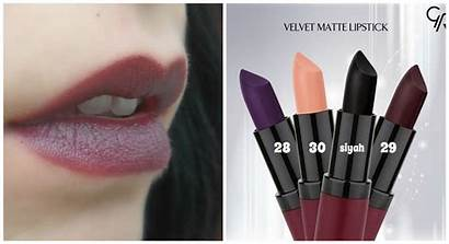 Matte Golden Rose Velvet Lipstick Swatch