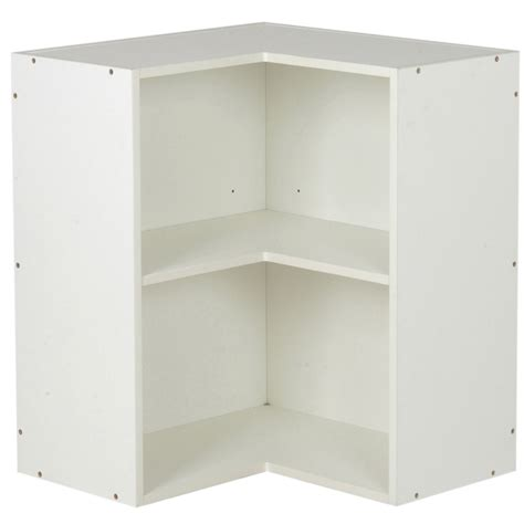 corner kitchen wall cabinets kaboodle 600mm wall corner cabinet bunnings warehouse
