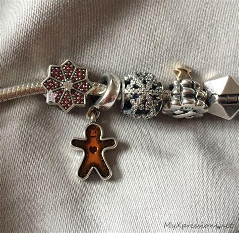 im wearing  pandora christmas bracelet