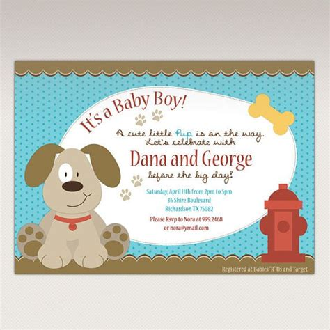 puppy themed baby shower 24 best puppy baby shower theme images on