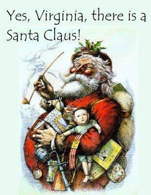 yes virginia there is a santa claus letter an artist named nast who was a s weekly 3511