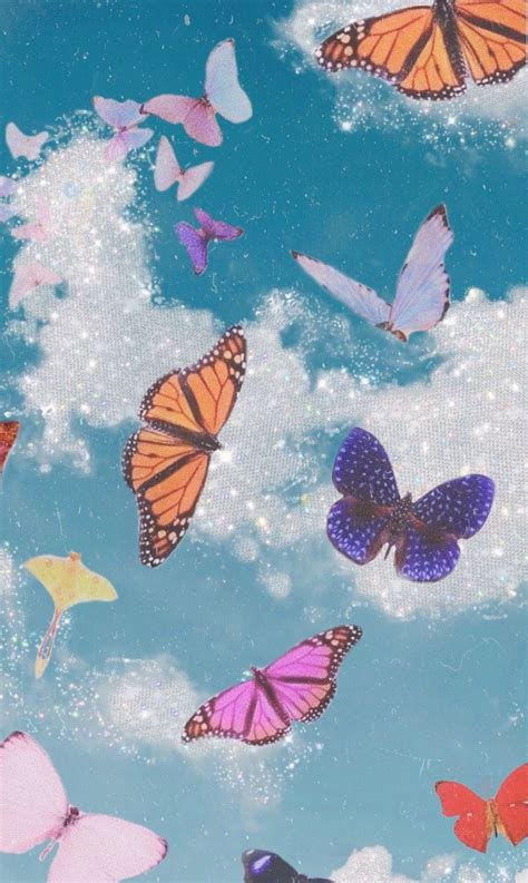 butterfly aesthetics wallpapers