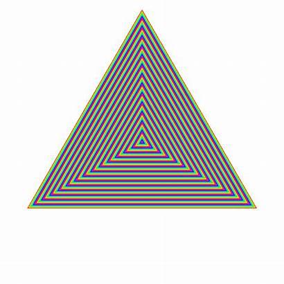 Rainbow Triangle Ripple Spin Fiocco Triangolo Problema