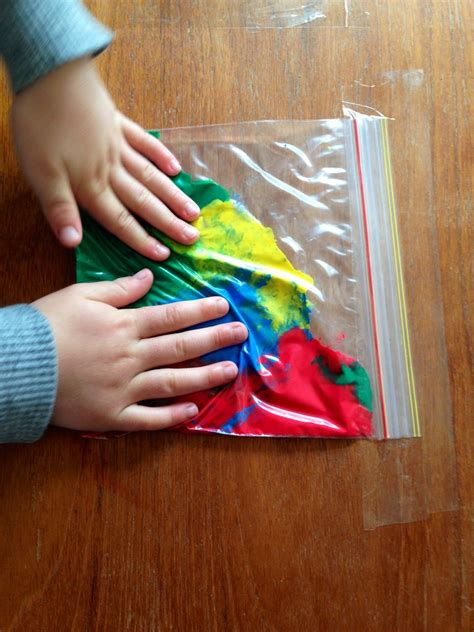 toddlers crafts ideas squidgy rainbow bags my kid craft 3127