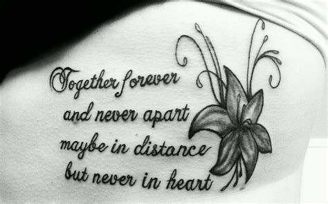 Gone But Never Forgotten Tattoo Quotes