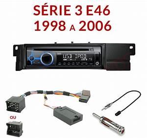 Autoradio 1-din Bmw Serie 3 E46  U0026 M3 - Poste Cd  Usb  Mp3  Wma Clarion Audi