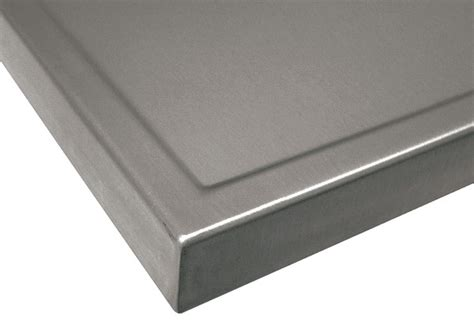 stainless steel countertop edging advance tabco 174 mobile kitchens 5716