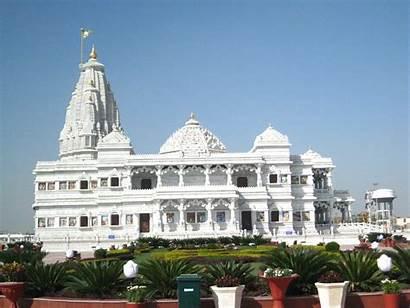 Mandir Prem Vrindavan Pradesh Uttar Temples Krishna