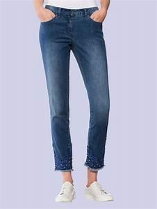 Jeans Mit Schmuckperlen : alba moda jeans mit tonigem spitzenbesatz und schmuckperlen online kaufen otto ~ Frokenaadalensverden.com Haus und Dekorationen