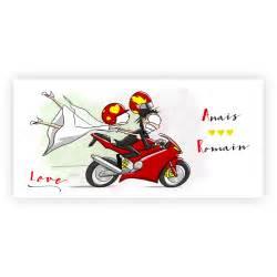 livret de mariage faire part mariage pas cher arrivée en moto n41c208 faire part de