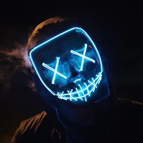 Wallpaper Mask, Anonymous, Night, 4K, Photography / Most ...