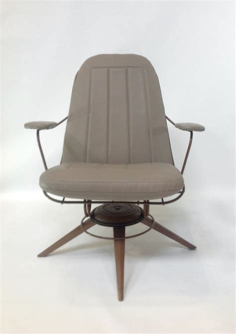 mid century modern rocking chair pair  mid century