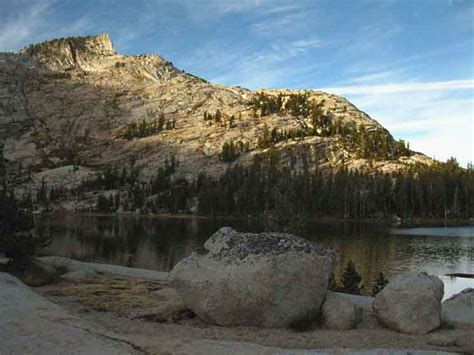 Cathedral Lakes From Tuolumne Meadows Backpacking