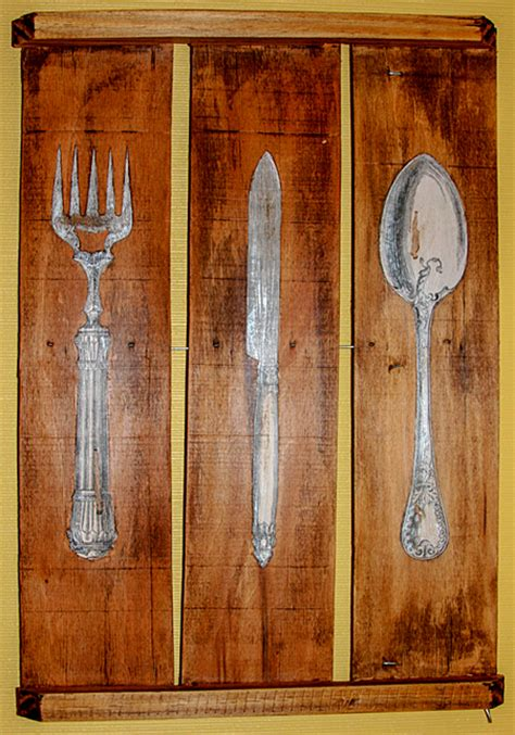 silverware kitchen art reader featured project