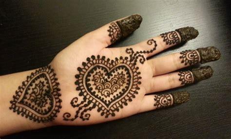 Permalink to Heart Shape Tattoo Mehndi Design