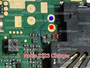 Nokia 2330 Classic Not Not Charging Problem Solution Jumpers