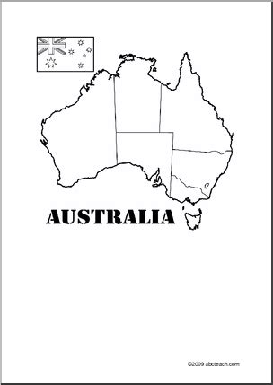 2409x2165 / 1,35 mb go to map. Australia Theme Unit: Printable Map to label and color ...