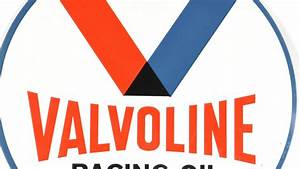 Valvoline Racing Oil Sign DST 30x30 | U28 | Walworth 2015