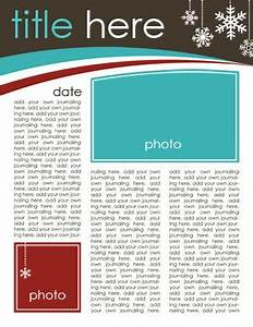 19 free christmas letter templates downloads images free With newsletter layout templates free download