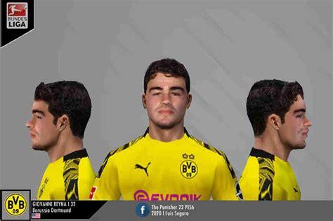 ultigamerz: PES 6 Giovanni Reyna (Borussia Dortmund) Face