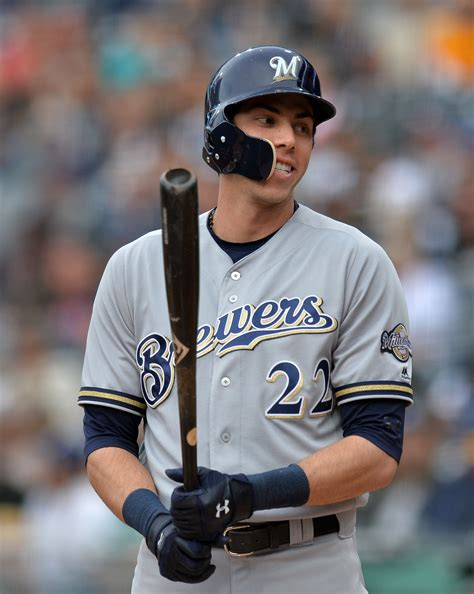 Milwaukee Brewers Christian Yelich