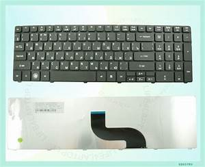 New Us Ru Russian Layout Laptop Keyboard For Acer Aspire