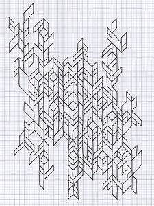 Grey Grid Notebook Draft Design Diagram Draw Doodle