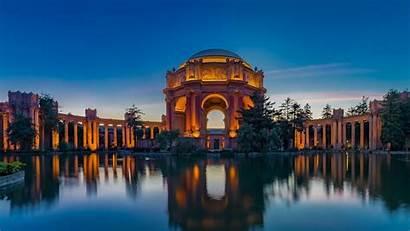 Fine San Palace Arts Francisco California Sunset