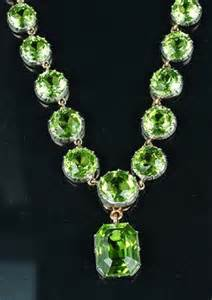 Peridot Necklaces and Pendants