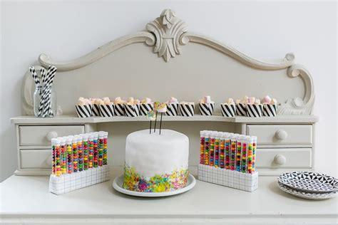 Kitchen Decorations Ideas Theme - kara 39 s party ideas modern science themed birthday party kara 39 s party ideas