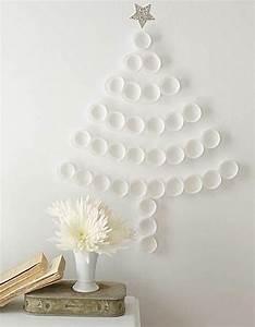 Diy alternative christmas trees adding fun wall