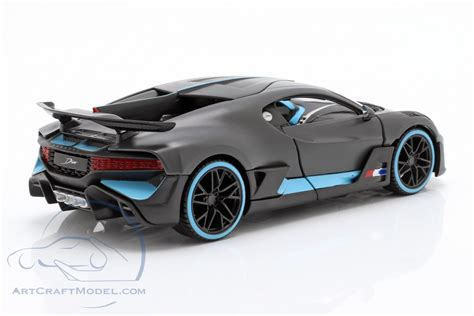 18 incredible bugatti racing super sports cars photos. Bugatti Divo year 2018 mat gray / light blue - 31526, EAN 8719247527752